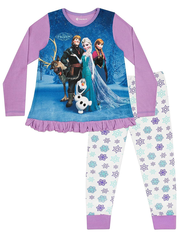 Disney Frozen Girls Disney Frozen Pyjamas Sven, Anna & Elsa Ages 2 to 12 Years