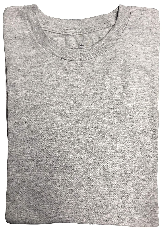 SOCKS/'NBULK Mens Cotton Crew Neck Short Sleeve T-Shirts Mix Colors Bulk Pack Value Deal