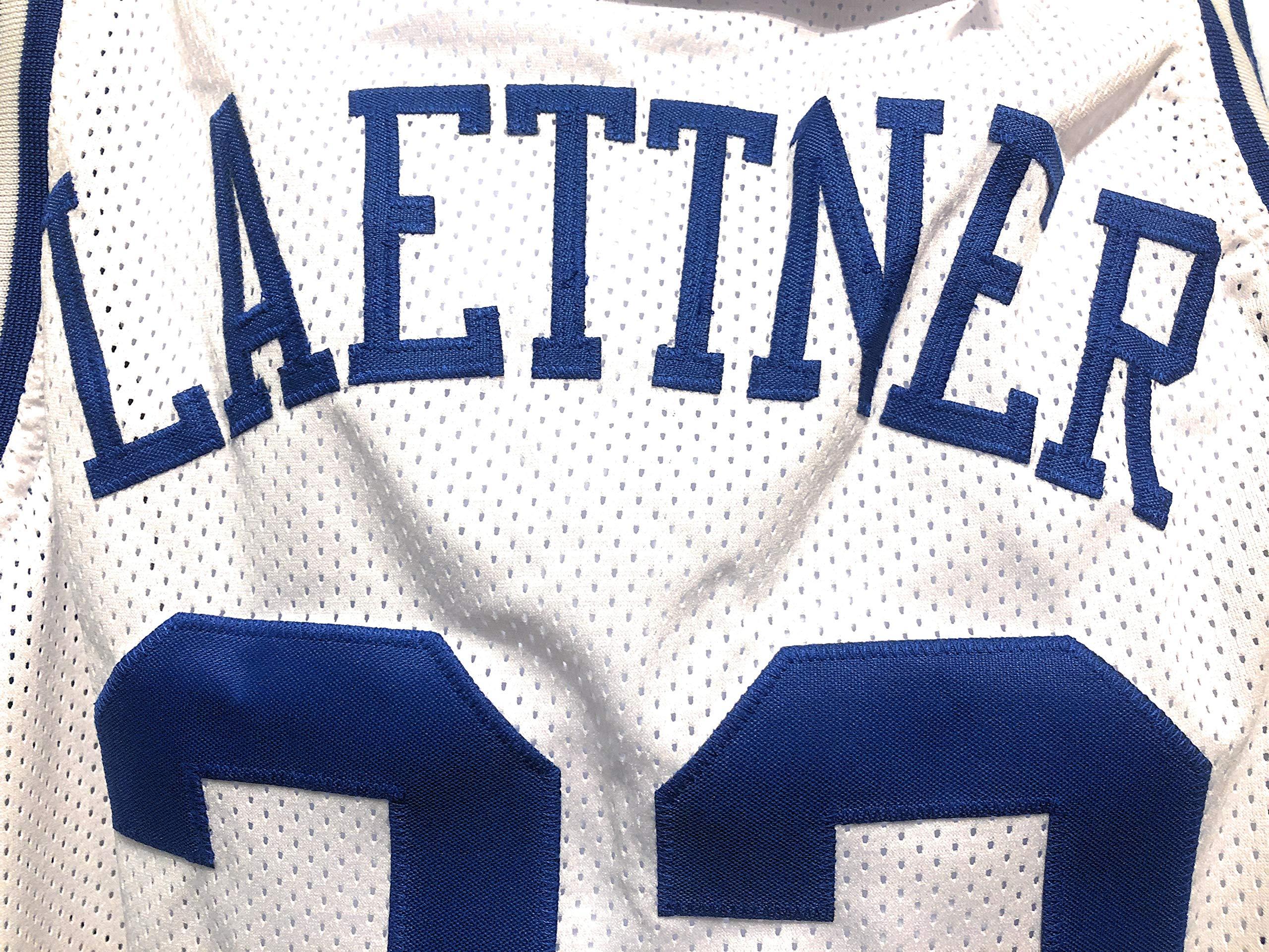 Christian Laettner Duke Blue Devils Signed Autograph Custom Jersey JSA Witnessed Certified