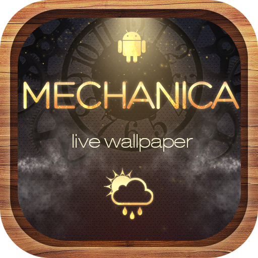 Mechanica clock live wallpaper (Best Live Weather Wallpaper App For Android)