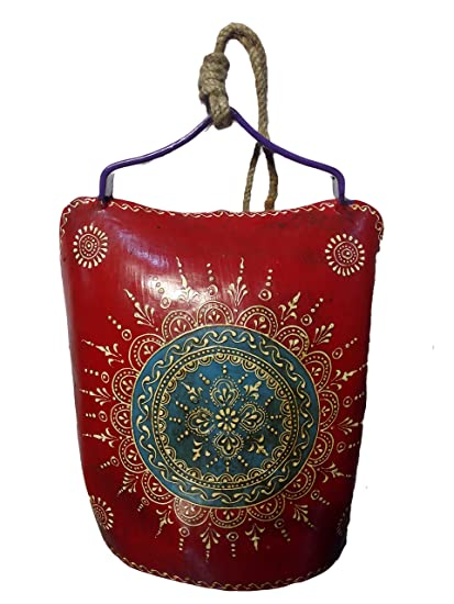 Amazon Com Indian Handicrafts Company Cow Bell Antique Work Home