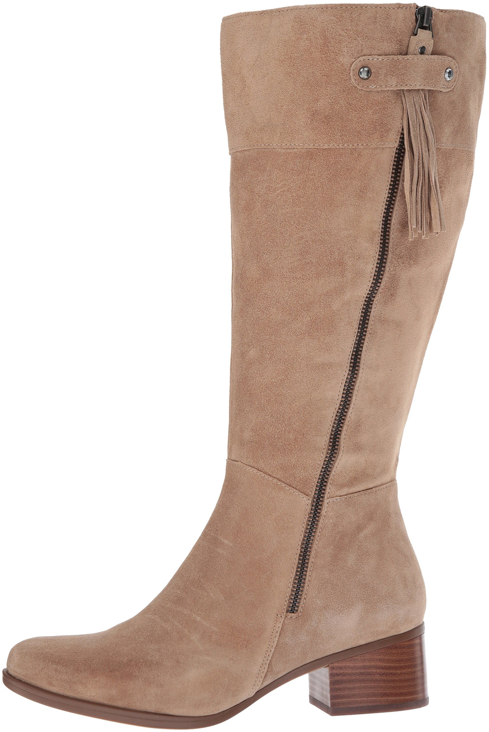 Naturalizer Women's Demi Wc Riding Boot, Oatmeal, 9 M US by Naturalizer (Image #5)