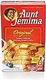 Aunt Jemima Pancake & Waffle Mix, Original, 48 Servings Box