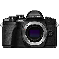 Olympus V207070BE000 E-M10 Mark III Compact System Camera - Black