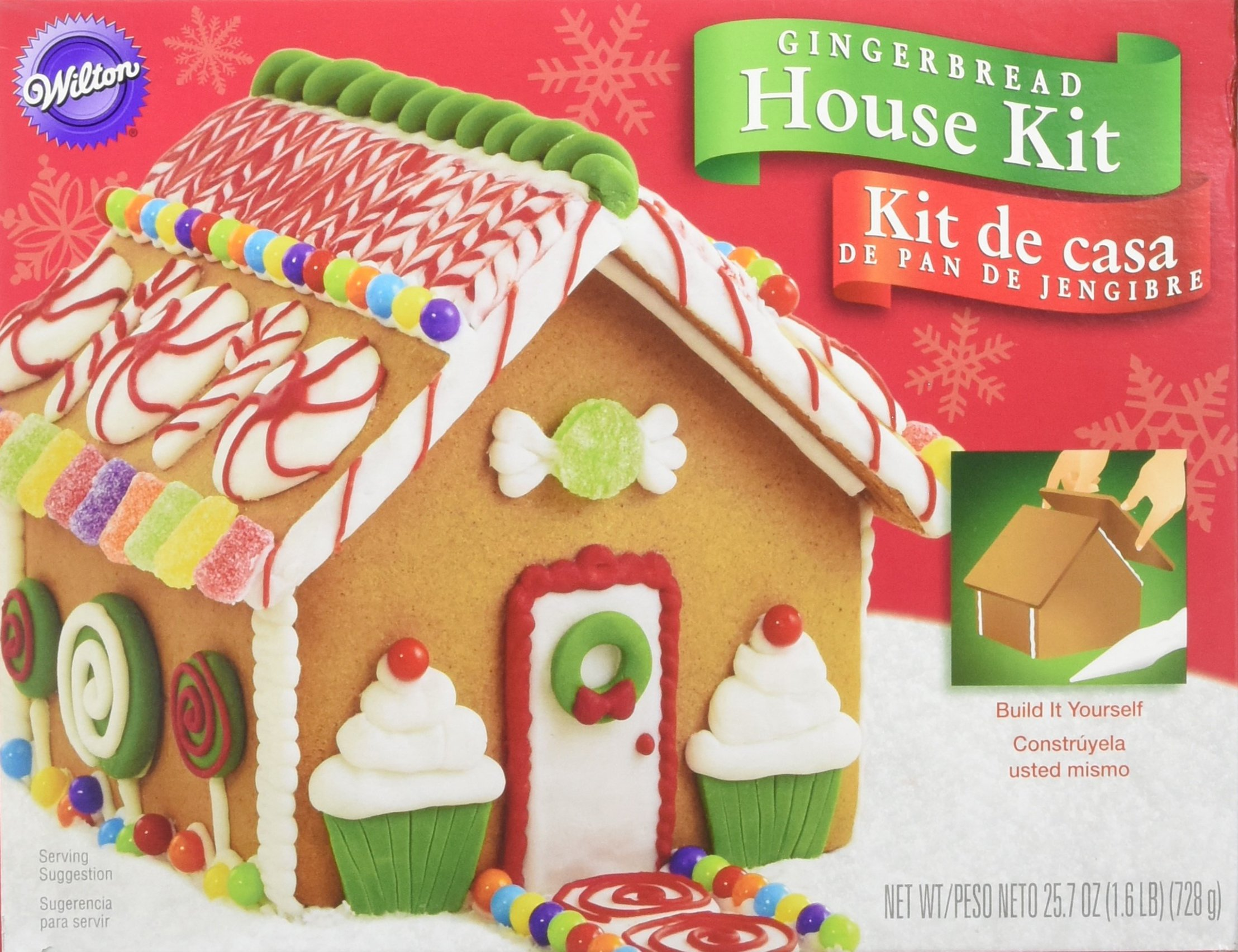 Cubicle Decorating Kits >> Amazon.com: Create-a-treat Gingerbread House Kit, 2.20 lb