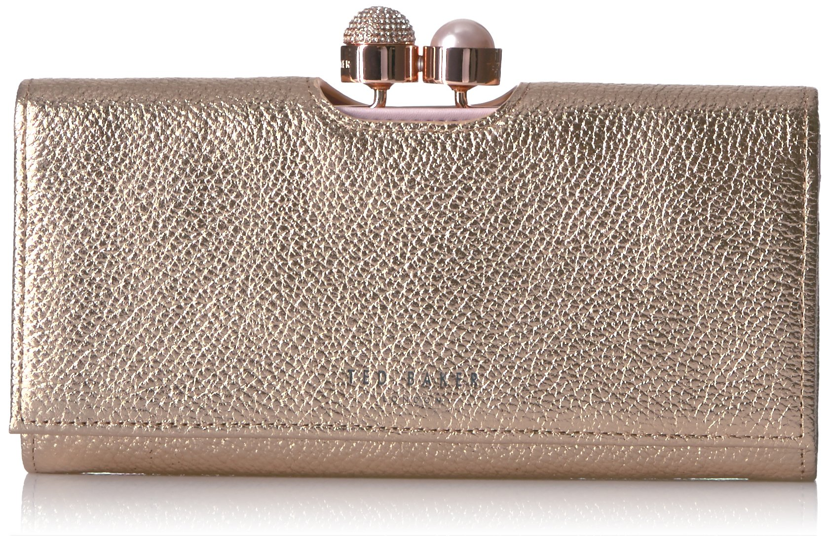 Ted Baker Marta Wallet,Crystal Pearl Bobble Matinee,rosegold,One Size
