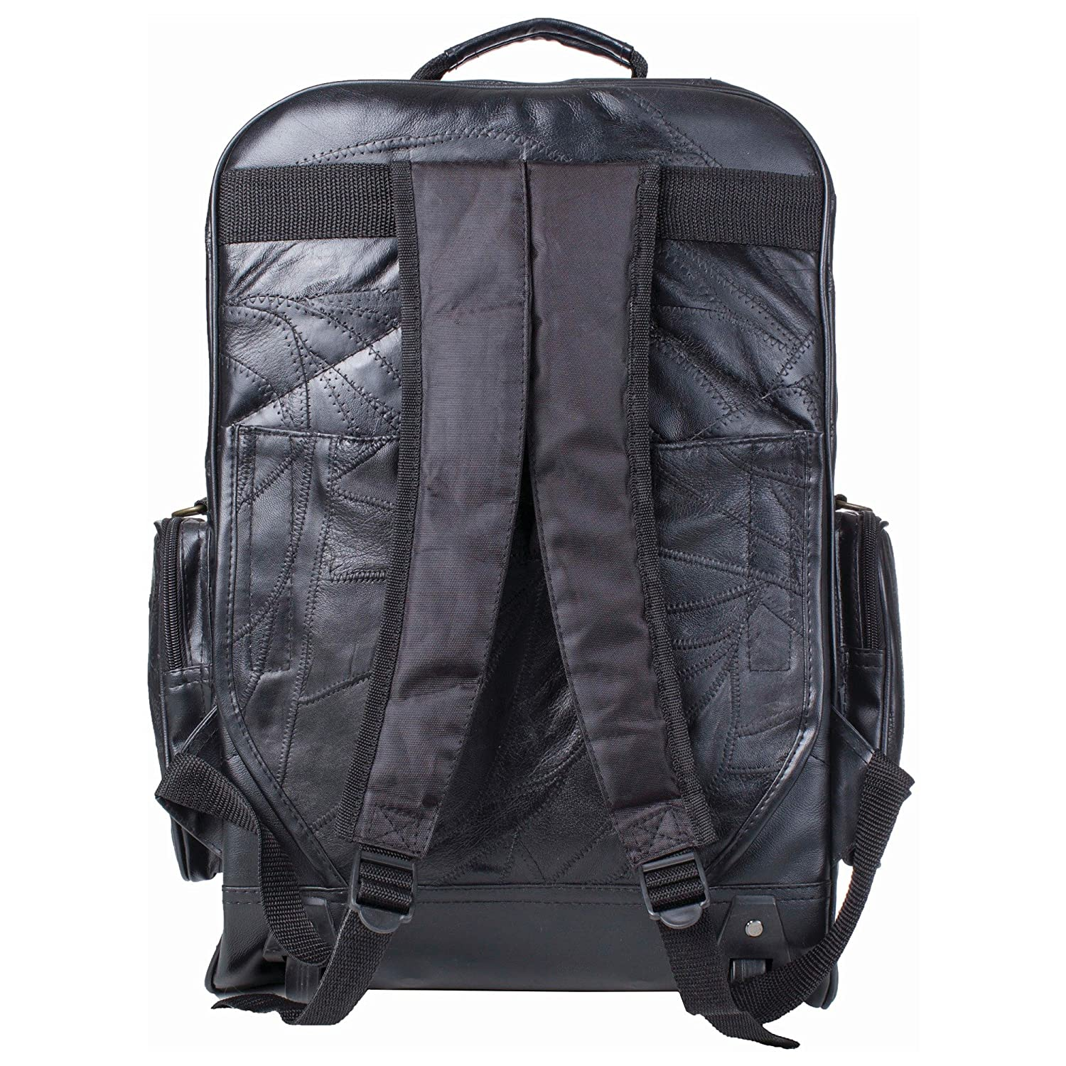Embassy Genuine Leather Backpack Cart