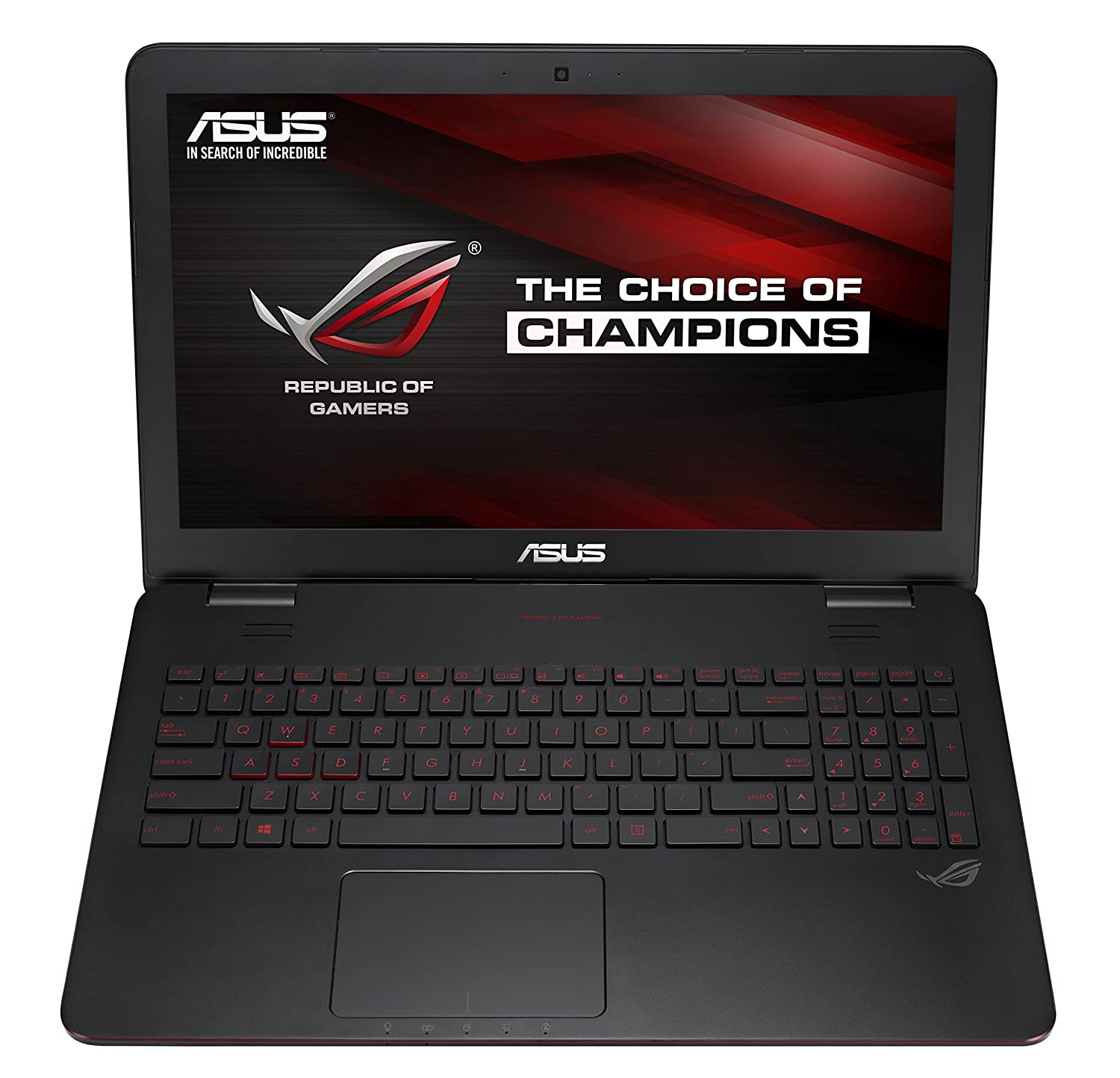 Amazon.com: ASUS ROG GL551 Series GL551JW-DS71 15.6-Inch Gaming Laptop 4th Generation (Intel Core i7-4720HQ 2.60 GHz, 16 GB Memory, 1 TB HDD, NVIDIA GeForce ...