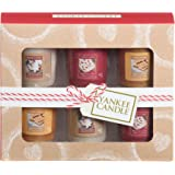 Yankee Candle Cookie Swap 6 Votive Gift Set, Cardboard, Multi-Colour, 5.1 x 16.9 x 13.8 cm