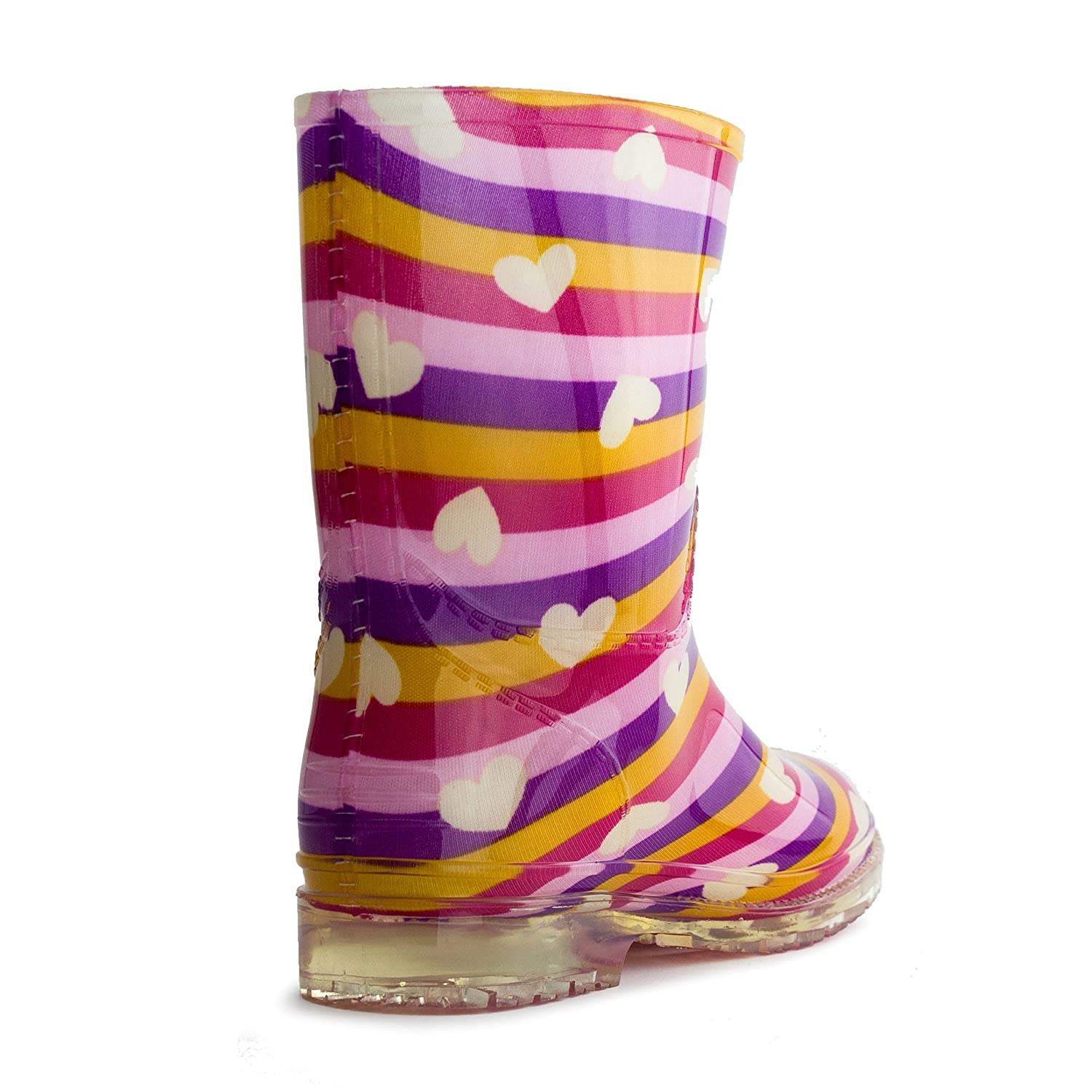 EASY Girls Fashion Rain Boots (Toddler/Little Kid): Amazon.ca: Shoes &  Handbags