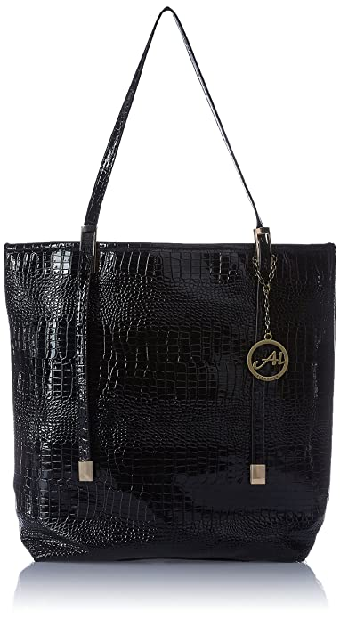 Alessia74 Women's Tote Bag (Black) (TY025A)