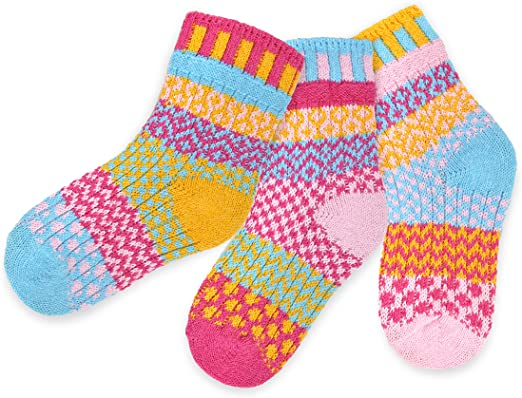 SOLMATE SOCKS choice 4 sizes and 8 designs Odd socks 100/% recycled fibres