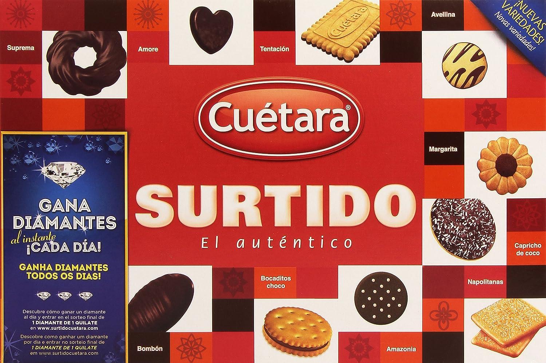 Cuetara - Surtido el Autntico - Surtido de Galletas - 420 g - [pack de 4]: Amazon.es: Alimentación y bebidas