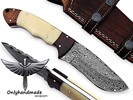Amazon.com: Beautiful Damasco Cuchillo De Madera Notable ...