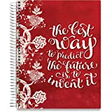 June 2018-July 2019 Daily Planner - 8.5 x 11 Hardcover - Dated Academic Year Calendar w Stickers - Weekly Monthly Yearly Goals Journal Agenda - Personal Organizer | by Tools4Wisdom Planners