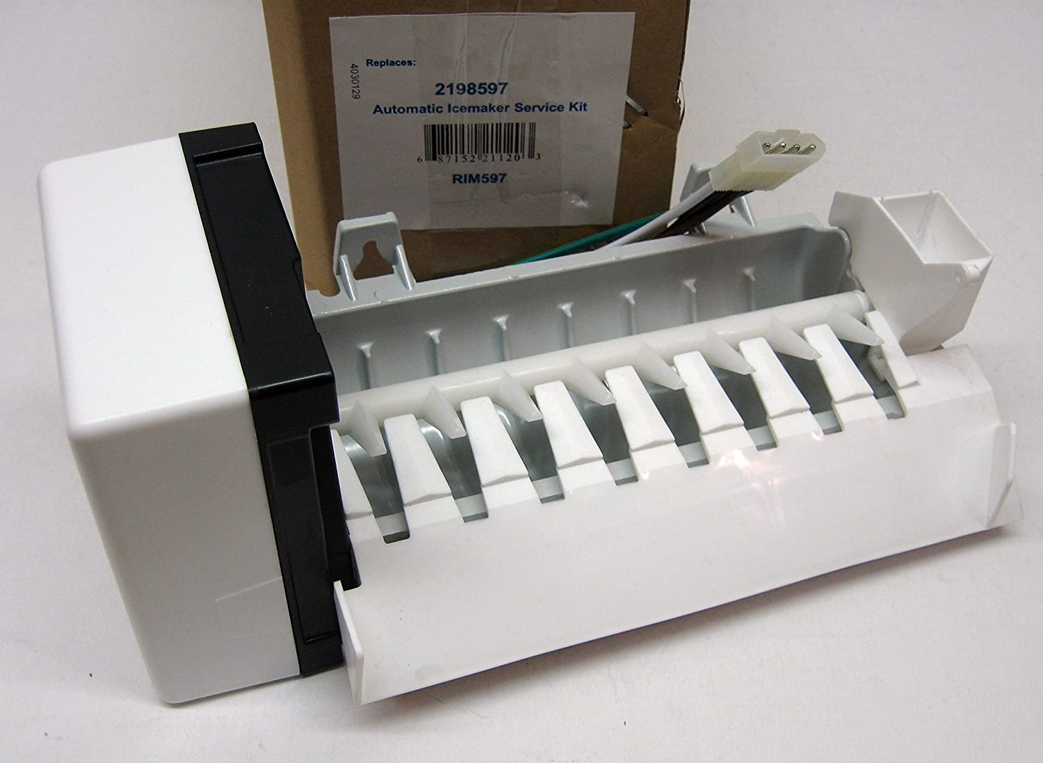 2198597 Refrigerator Icemaker for Whirlpool Kenmore PS869316 AP3182733
