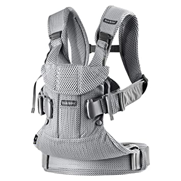 Babybjorn Baby Carrier One Air 3d Mesh Silver 2018 Edition