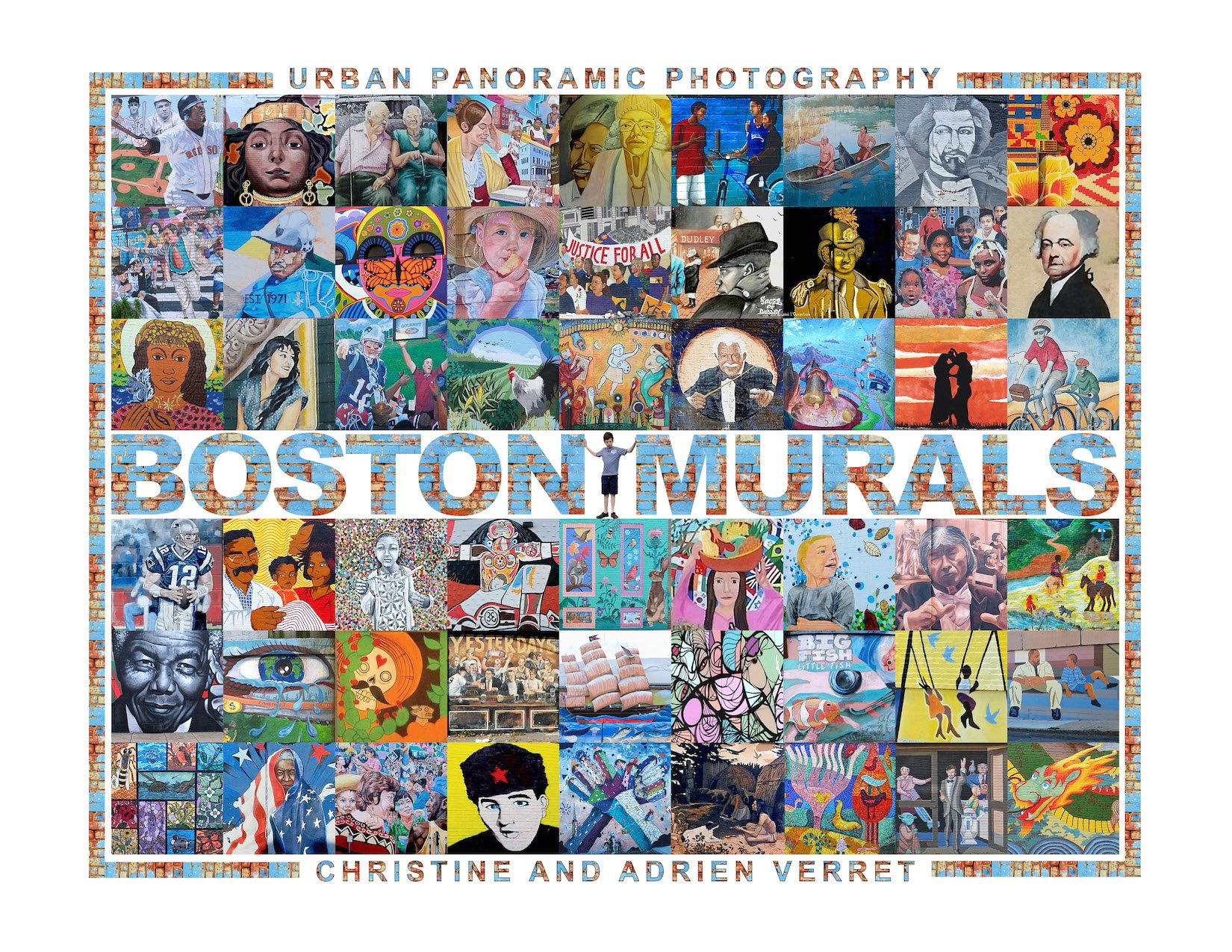 boston murals book by christine and adrien verret