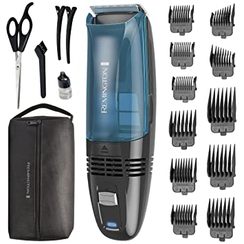 Amazon Remington Hc6550 Cordless Vacuum Haircut Kit Vacuum