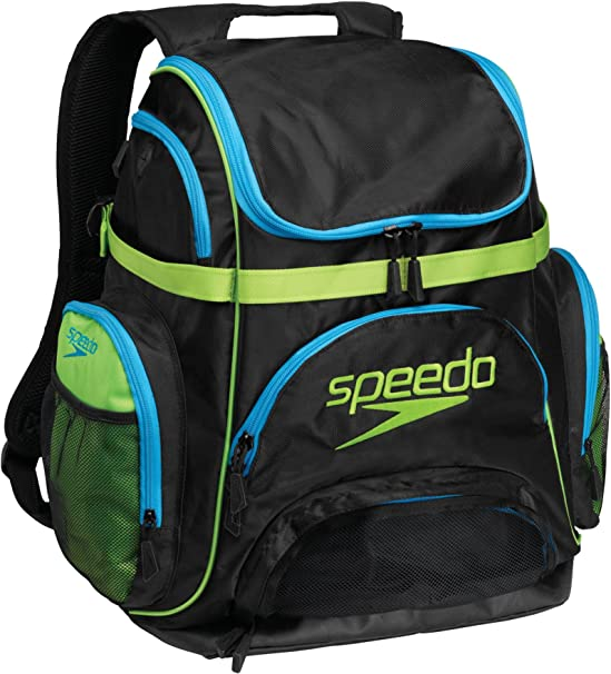 caridad solo grupo  Amazon.com : Speedo Performance Pro Backpack, Turquoise/Lime : Swimming  Equipment Bags : Sports & Outdoors