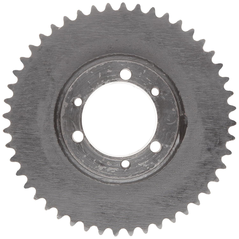 19 Teeth 3//8 Pitch Tsubaki 35JA19 Roller Chain Sprocket JA Bushing Required Single Strand #35 ANSI No. QD Design