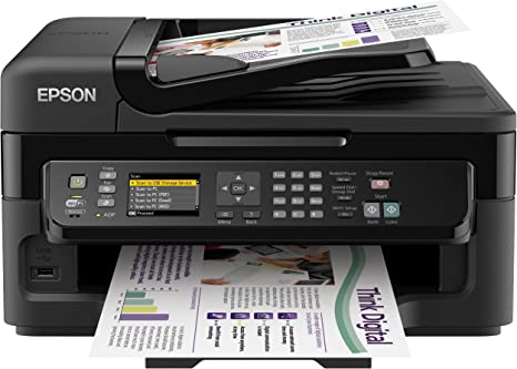 Epson Workforce WF-2540WF - Impresora multifunción de Tinta (B/N ...