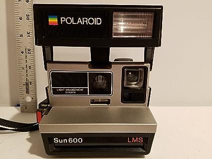 4580a573beaf Amazon.com   Polaroid Sun 600 LMS   Instant Film Cameras   Camera ...