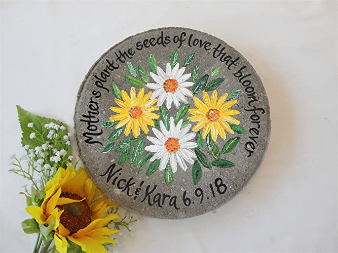 MOTHER WEDDING GIFT, Gift For Mother For Wedding, Mother Garden Stone,  Mother Of