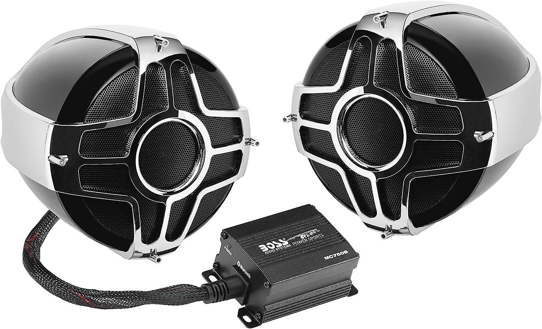 BOSS MC750B-Motorcycle Bluetooth Weatherproof 4 Inch Speakers
