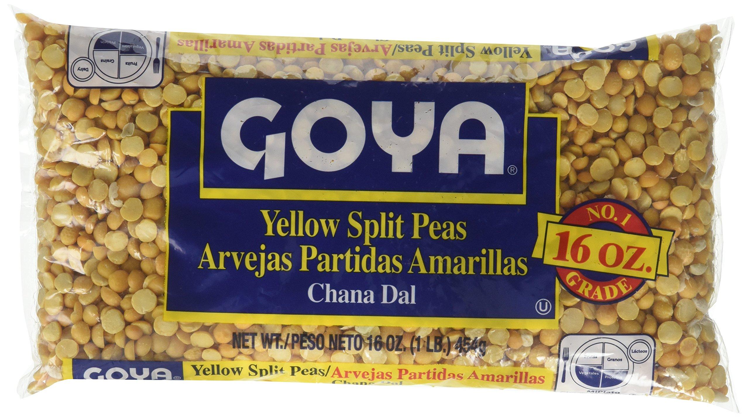 Goya Yellow Split Pea, 16 oz