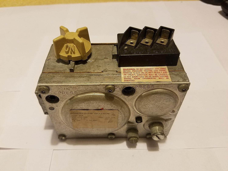 Robertshaw Grayson Furnace Gas Valve 7100 Der Wiring A Room