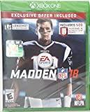 Madden NFL 18 Limited Edition (Xbox One) - Exclusive Offer (Includes 500 Madden NFL 18 Ultimate Team Points)