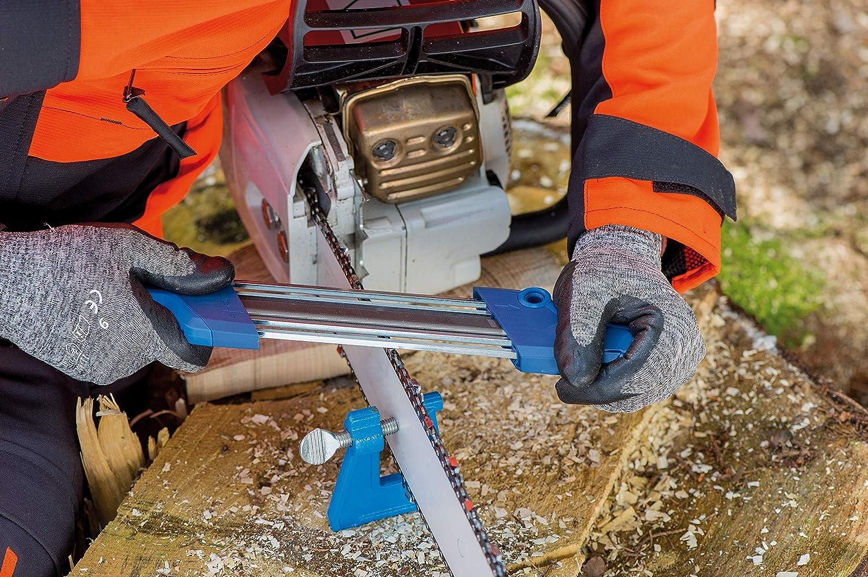 S/ägezahn und Tiefenbegrenzer in einem Arbeitsgang bearbeiten Feilen-/ø 5,16 mm PFERD Kettens/ägesch/ärfger/ät CHAIN SHARP CS-X