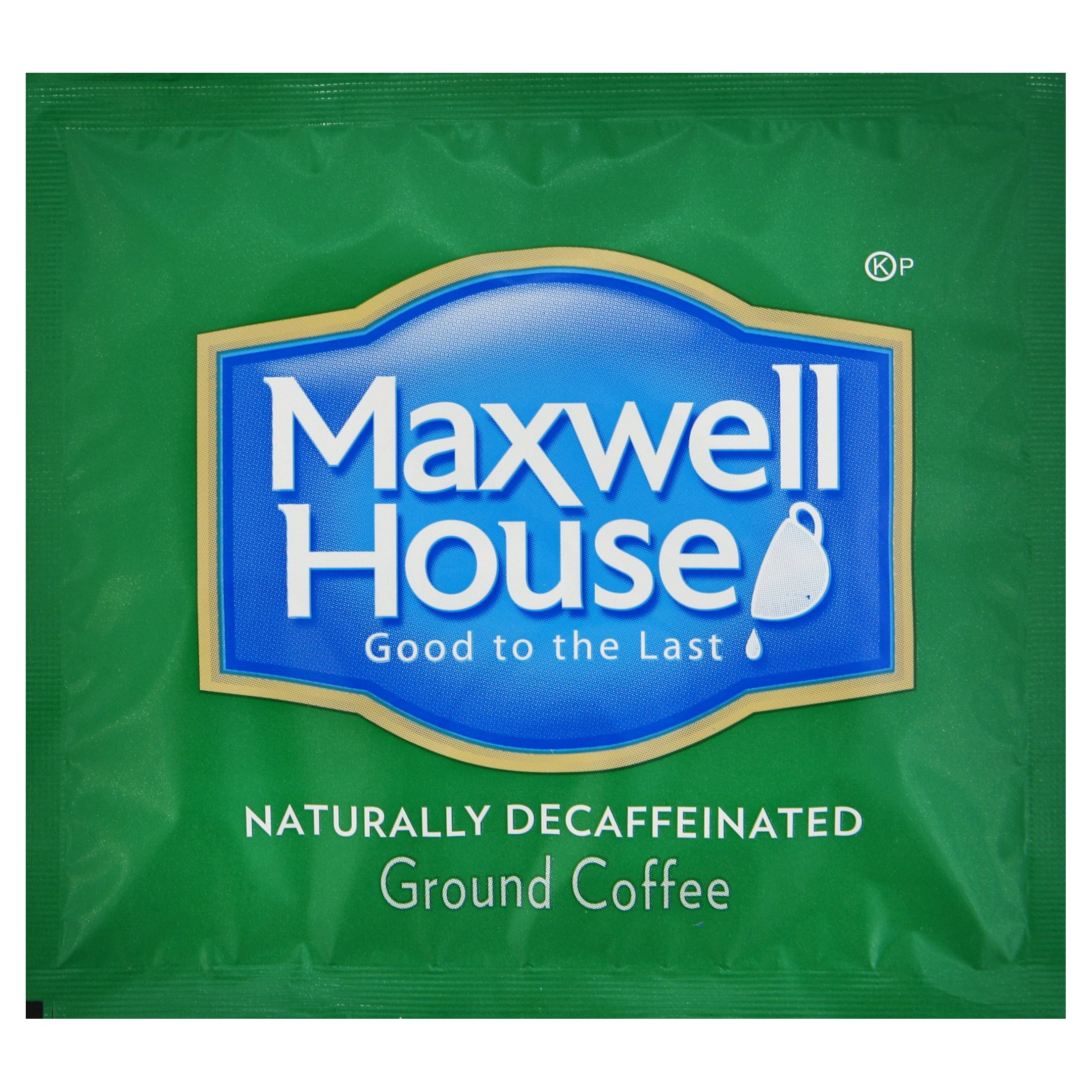 Maxwell House Roast & Ground In-Room Filter Decaf Coffee, 0.7 oz. pack, Pack of 100