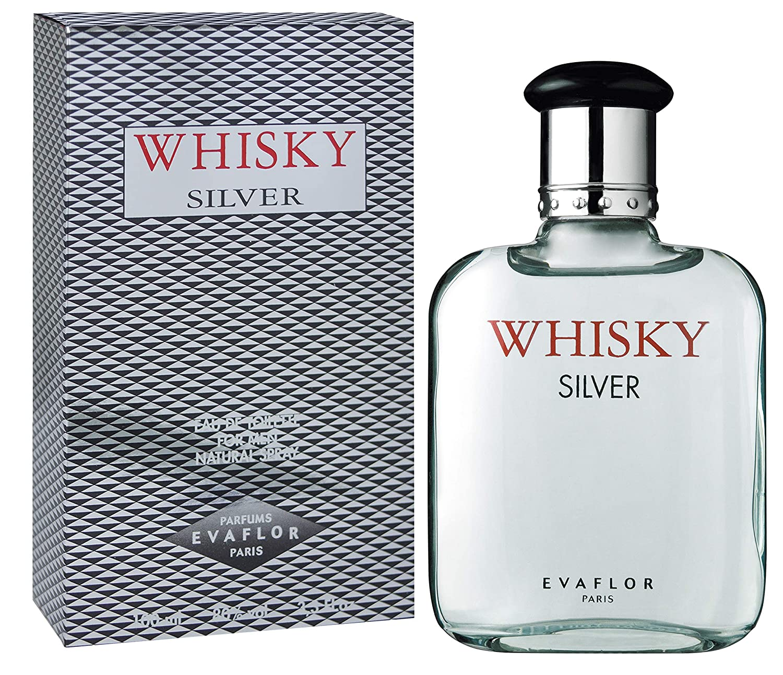 Evaflor Whisky Silver for Men, 100ml