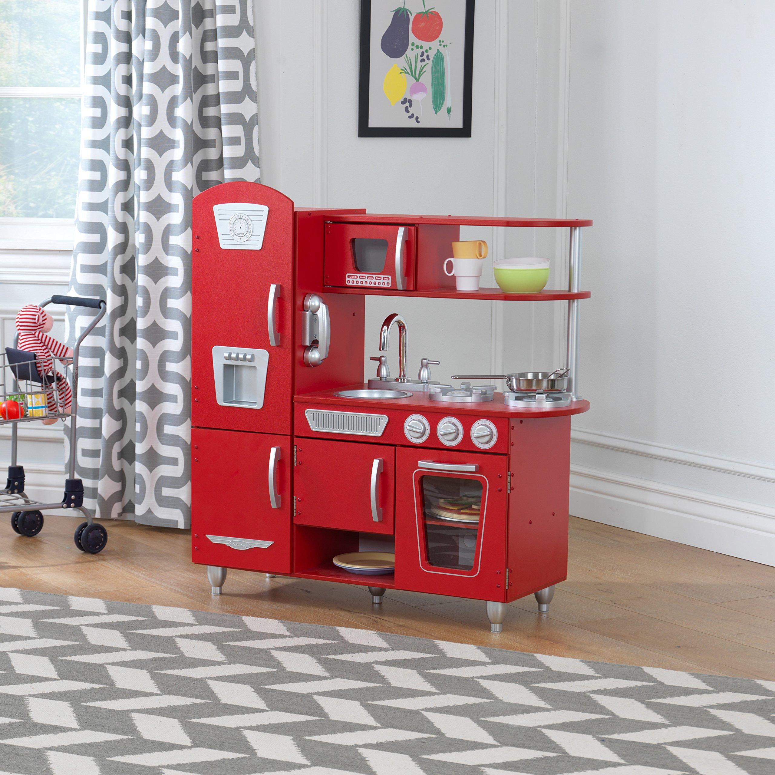 KidKraft Vintage Play Kitchen - Red by KidKraft (Image #6)