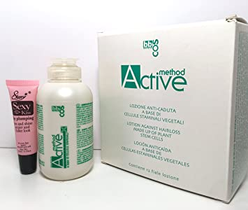 Amazon.com : bbcos Method Active Hairloss Made of Plant Stem ...