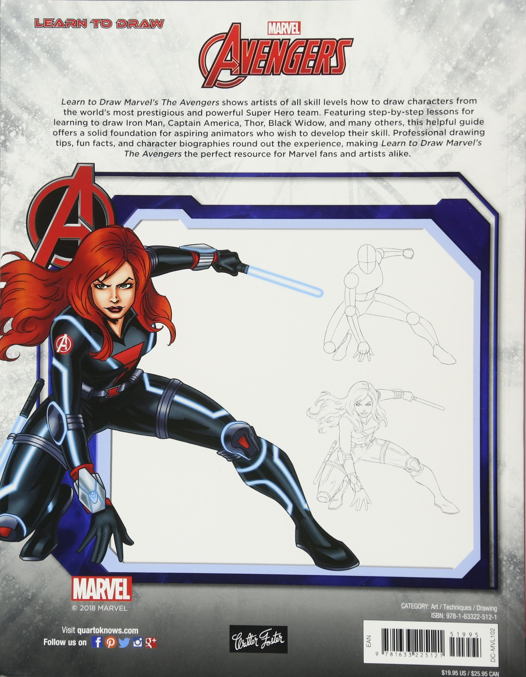 Amazon Com Learn To Draw Marvel S The Avengers Learn To