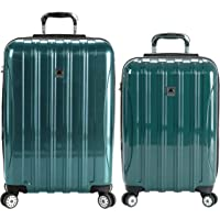 DELSEY Paris Helium Aero Hardside Expandable Luggage with Spinner Wheels, Teal, 2-Piece Set (21/29)