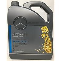Originele Mercedes Benz 229.5 5W40 motorolie 5 liter