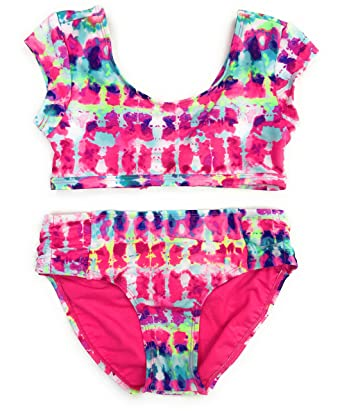 324a56972a3c5 Amazon.com: Justice Girls Bikini Bathing Suit Swimsuit Multiple Styles &  Sizes: Clothing