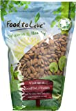 Food to Live Organic Almonds (Raw, No Shell, Unpasteurized) (4 Pounds)
