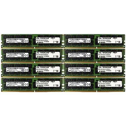 DDR4 Micron by A-Tech 128GB Kit 8X 16GB 2Rx4 PC4-17000 2133MHz Dell  PowerEdge R730xd R730 R630 T630 R430 R530 C4130 SNP1R8CRC/16G A7910488  A7945660