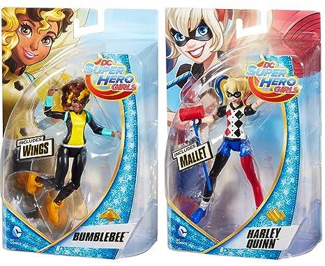 New 6X Comics Female Super Hero Harley Quinn The Avengers Figure Model Toy Doll