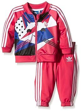 df6ee9ce77159 adidas Magic Forest Superstar Survêtement Bébé 9 Mois Rose - Orange/Blanc