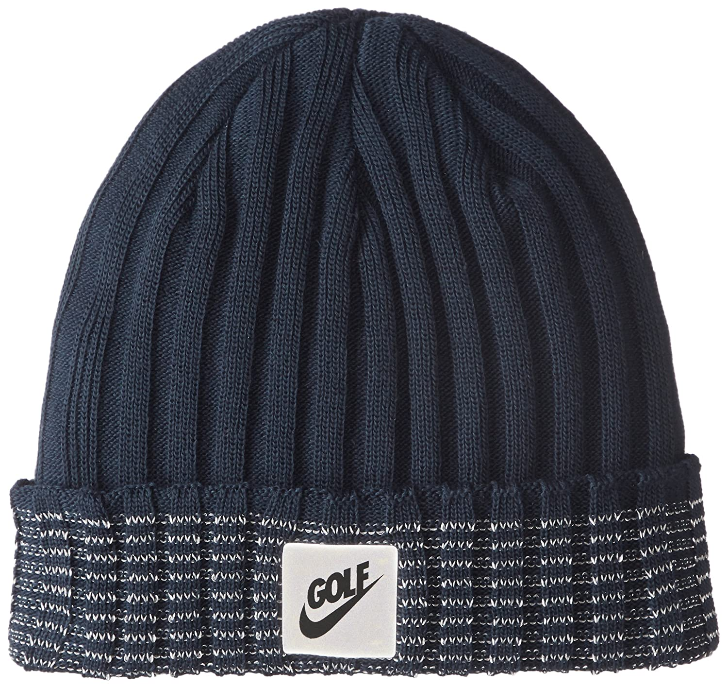 NIKE Unisex Golf Beanie Cuffed Knit Hat Armory Navy 856377-454 One Size at  Amazon Men s Clothing store  352cd94102b
