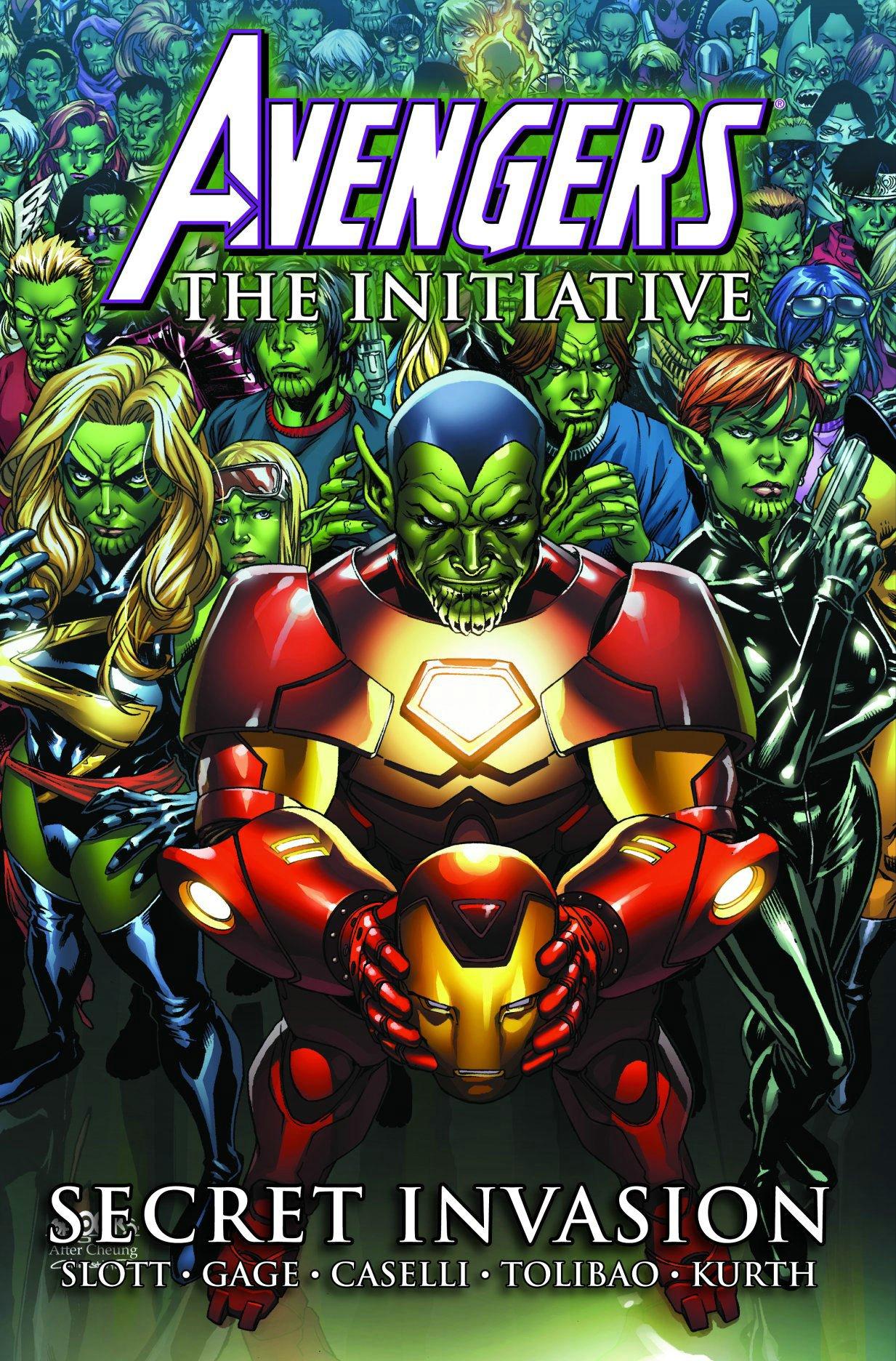 Download Avengers: The Initiative, Vol. 3: Secret Invasion (v. 3) pdf