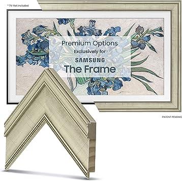 Ornate Gold Frame Custom for Any Size Samsung The Frame TV 6 Corner Sample Deco TV Frames