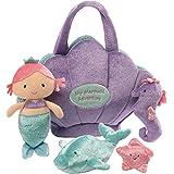 """Baby GUND Mermaid Adventure Stuffed Plush Playset, 10"""""""