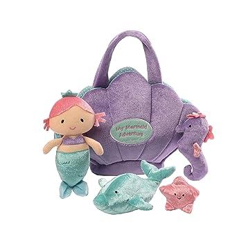 Amazon.com  Baby GUND Mermaid Adventure Stuffed Plush Playset 1d1740bf42e09